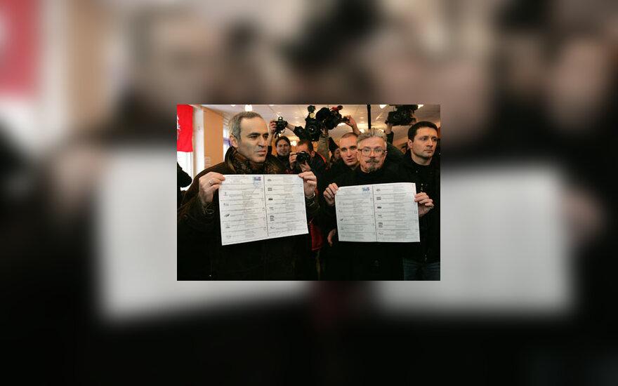 Garis Kasparovas ir Eduardas Limonovas