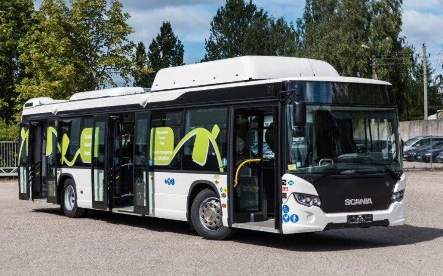 """""""Scania"""" dujinis autobusas"""
