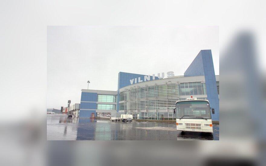 В Вильнюсском аэропорту – на 28% меньше пассажиров