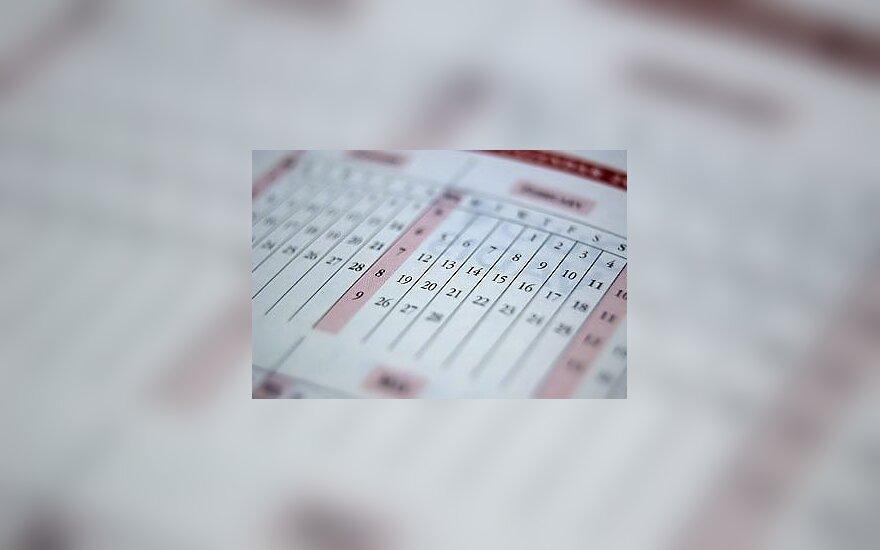 Kalendorius, laikas