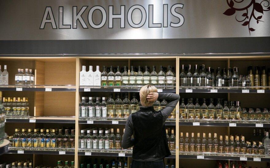 Минздрав: в Литве быстро сокращается потребление алкоголя