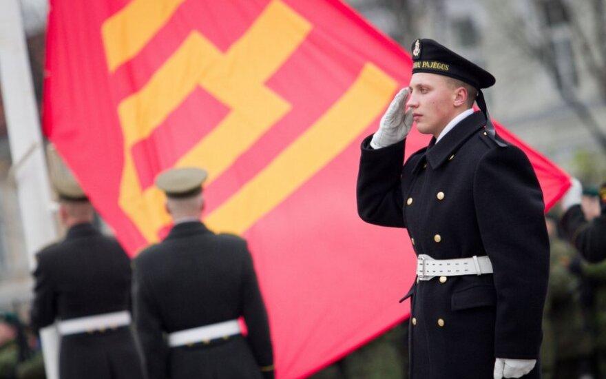 Литва отмечает День Литовской армии