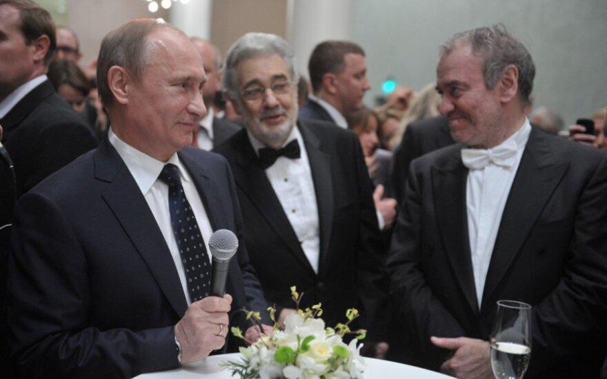 Президент России Путин поздравил Гергиева шуткой