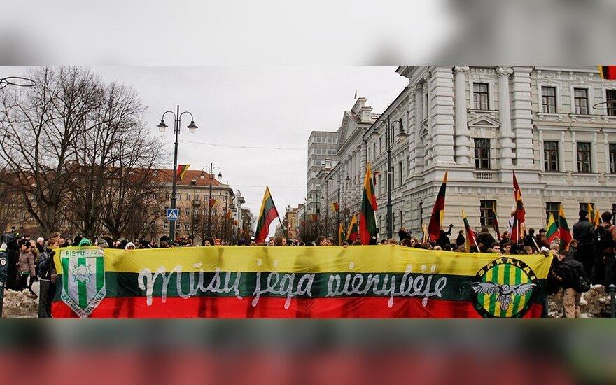 """В Вильнюсе снова будут звучать лозунги """"Литва - для литовцев, литовцы - для Литвы"""""""
