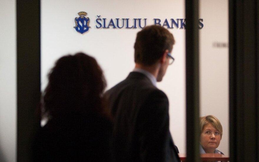 За часть Ukio bankas банк Siauliu bankas может заплатить и 1 лит