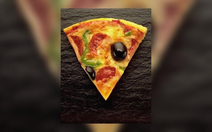 Голодный отнял две пиццы