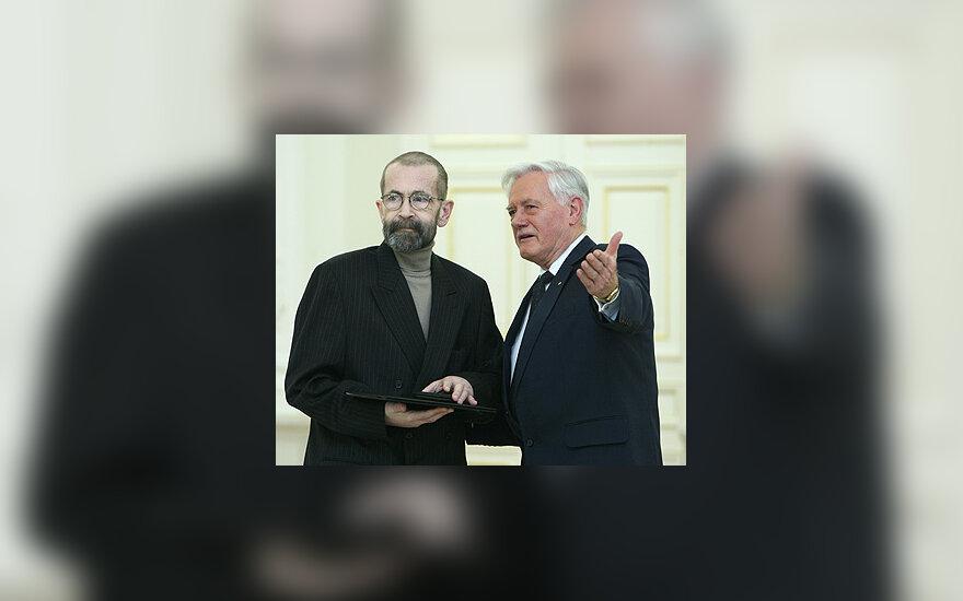 Vytautas Kernagis ir Valdas Adamkus
