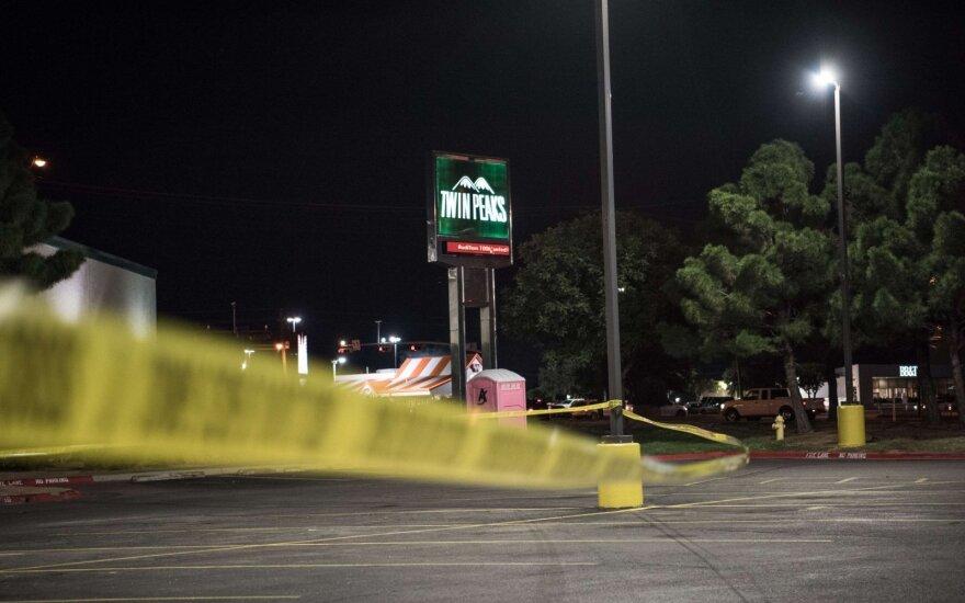 Per šaudynes Teksase žuvo penki žmonės