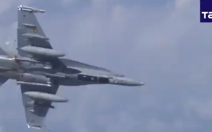 Истребители НАТО на прошлой неделе пять раз сопроводили российские самолеты