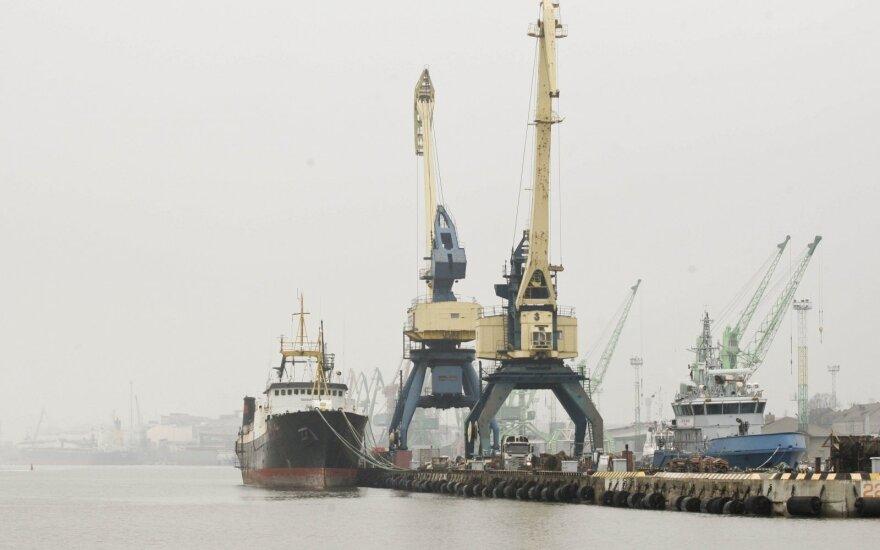 По контейнерным погрузкам Клайпеда - лидер среди портов Балтии