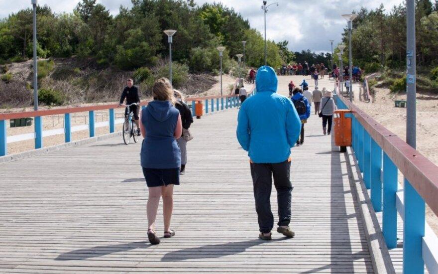 После ужаса пережитого в Паланге — на литовское взморье ни ногой