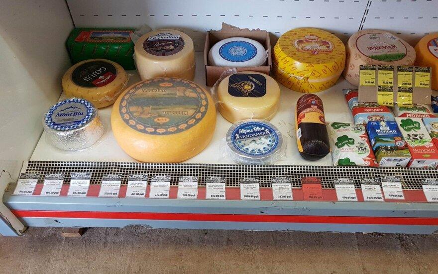 Lietuviški ir vakarietiški produktai Baškirijoje