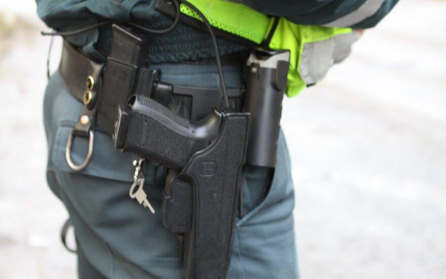 В Паневежисе обнаружено тело полицейского