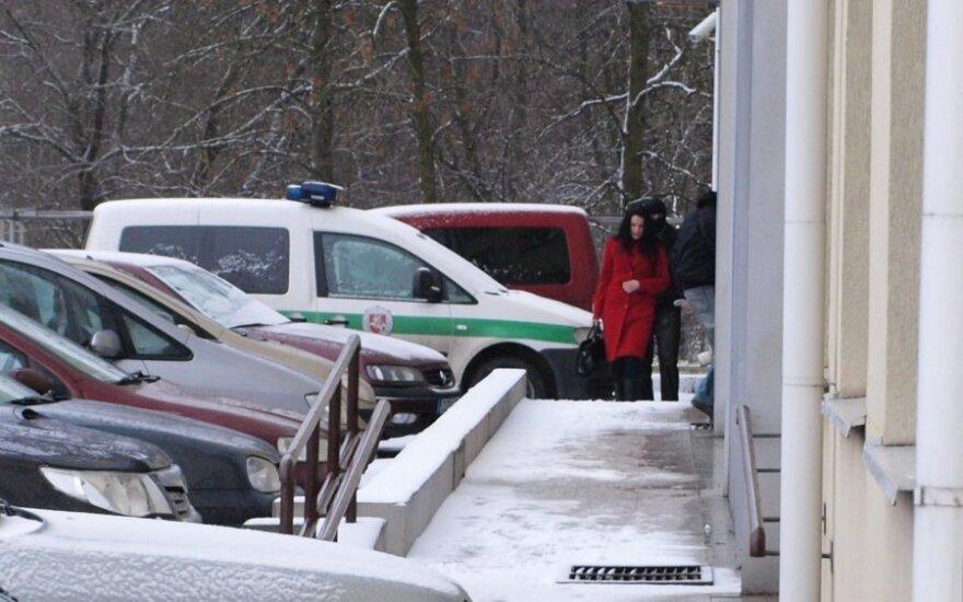 Laimutė Stankūnaitė atvyko į policiją