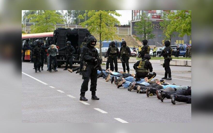 Ćwiczenia służb przed Szczytem NATO oraz Światowymi Dniami Młodzieży. Foto: MSW RP