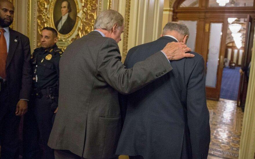 Правительство США остановило работу из-за отсутствия финансирования