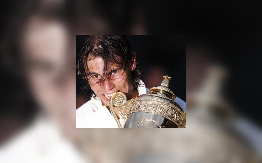 Rafaelis Nadalis - Vimbldono čempionas