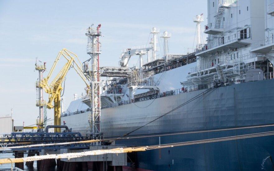 В Клайпеду доставлен новый груз сжиженного природного газа