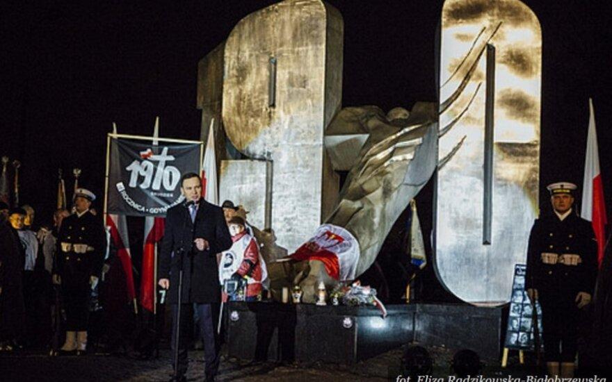 Obchody 45. rocznicy Grudnia '70. Foto: prezydent.pl