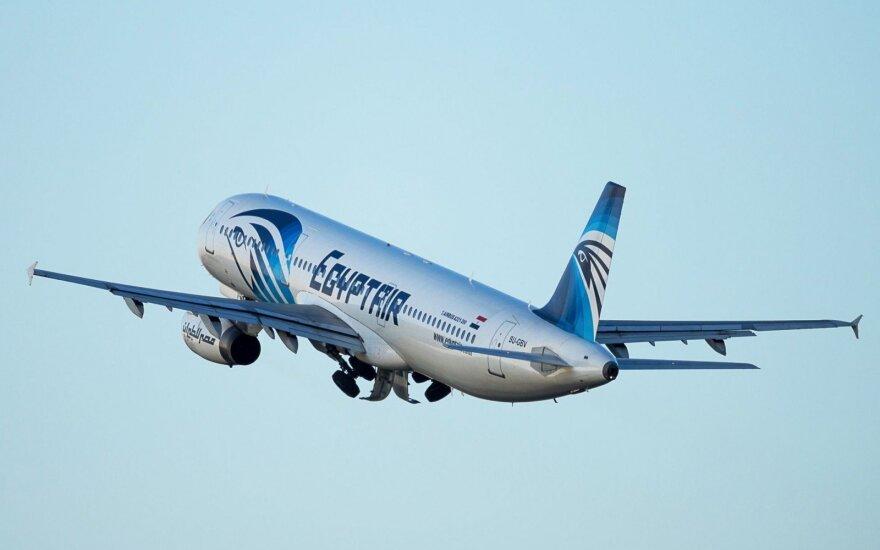 NYT: Самолет Egypt Air распался в воздухе из-за пожара