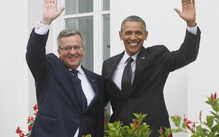 Bronisław Komorowski: Najważniejszym zadaniem jest wzmocnienie wschodniego skrzydła NATO. Obama obiecał miliard dolarów