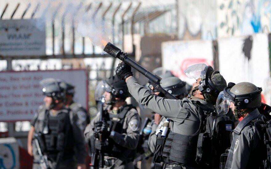 Иерусалим: протесты против решения Трампа привели к столкновениям