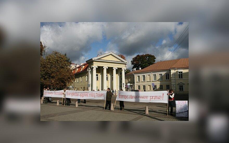Бузек оставил проблемы поляков литовским властям