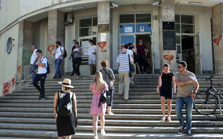 Parlamento rinkimai Kroatijoje