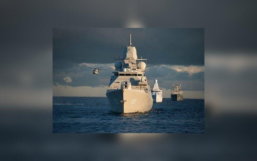 В Эстонию прибыла эскадра Королевских ВМФ Нидерландов