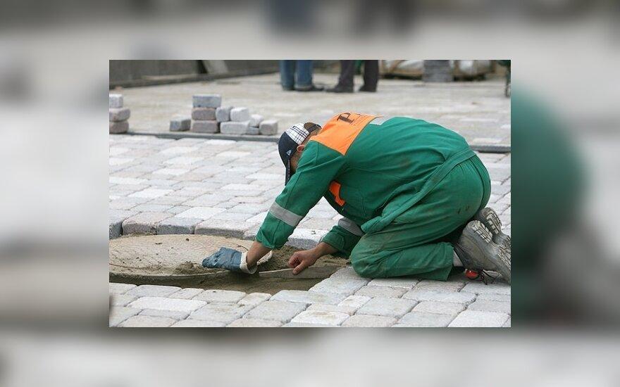 Литва – лидер по спаду строительства в ЕС