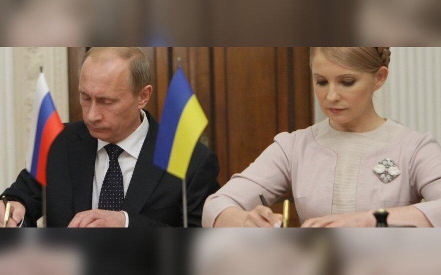Julija Tymošenko, Vladimiras Putinas