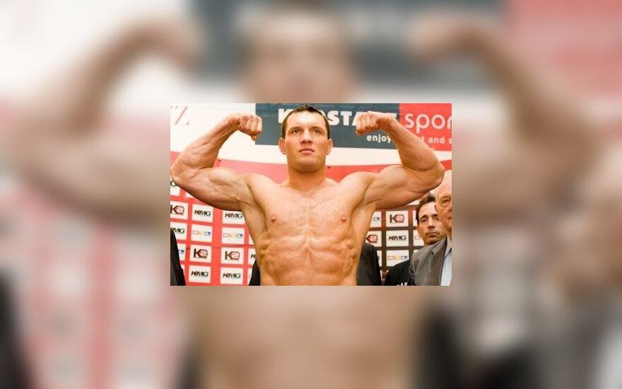 Альберт Сосновски. Фото -  Klitschko Management Group