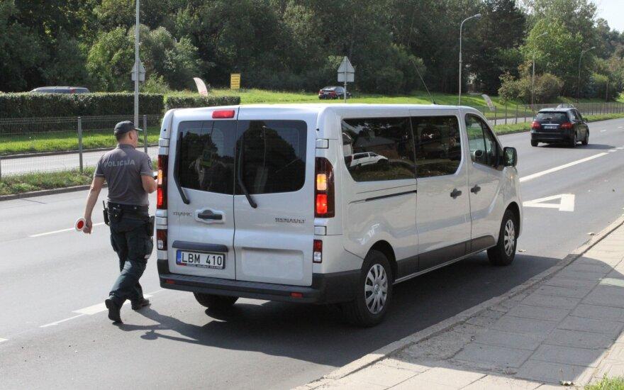 За 1,5 часа на одной вильнюсской улице за превышение скорости были наказаны 24 водителя