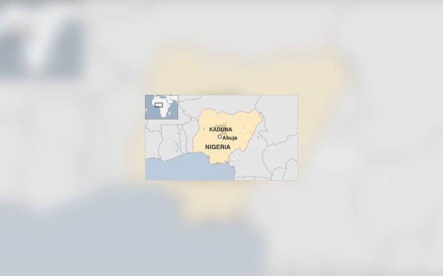Nigerijos žemėlapis (www.bbc.co.uk)