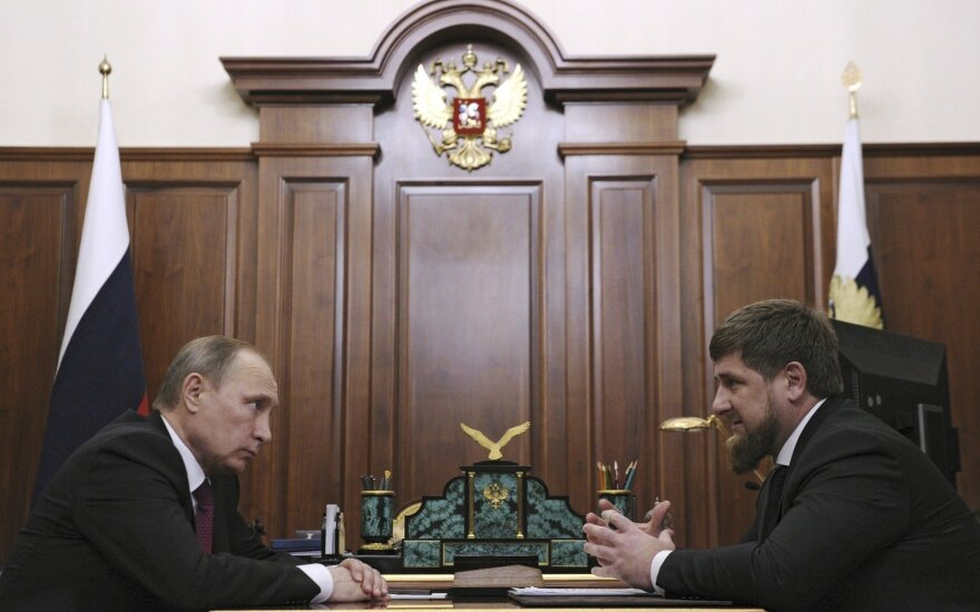 Vladimiras Putinas, Ramzanas Kadyrovas