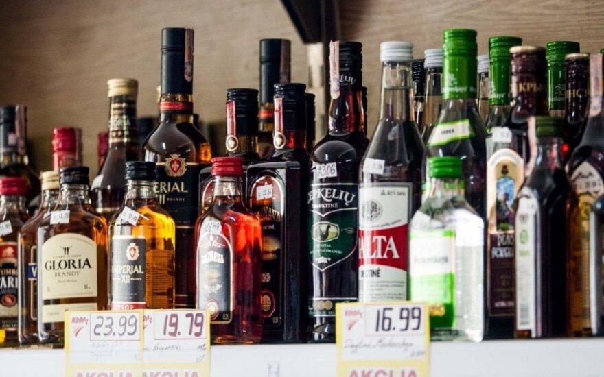 Предлагают запретить продажу крепких алкогольных напитков в продуктовых магазинах