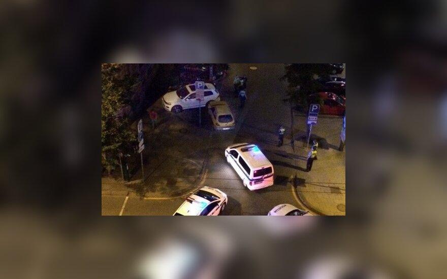 Пьяный водитель в центре Вильнюса повредил 5 автомобилей