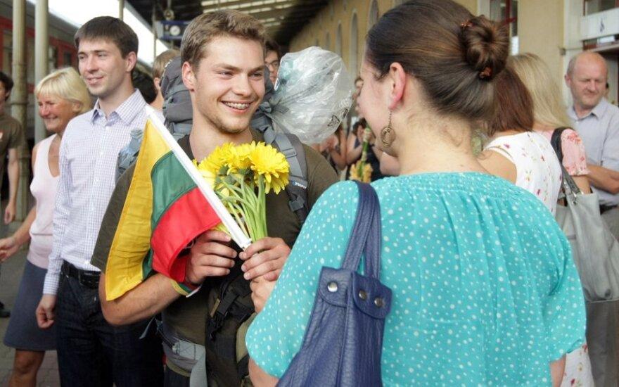 """""""Misija Sibiras 2011"""" dalyvių sutikimas"""