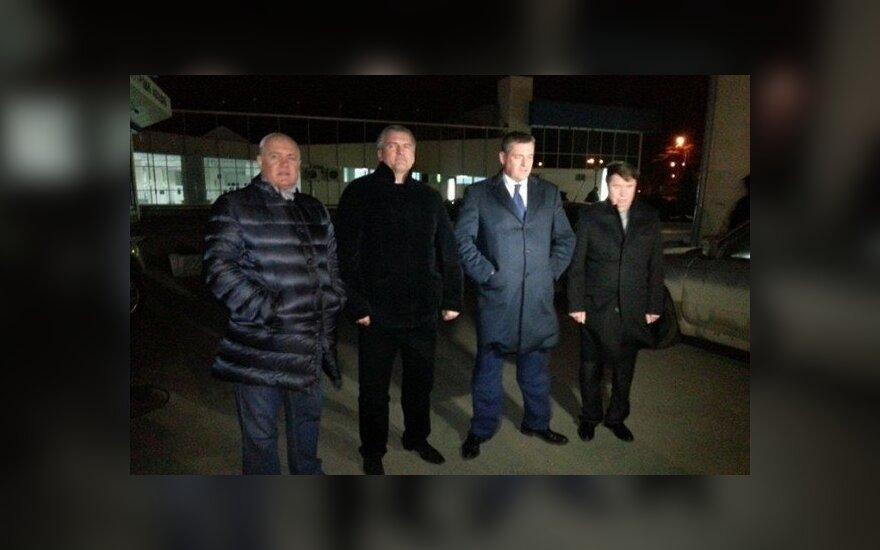 Депутаты Госдумы России прибыли в Крым