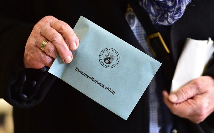 В Германии начались парламентские выборы