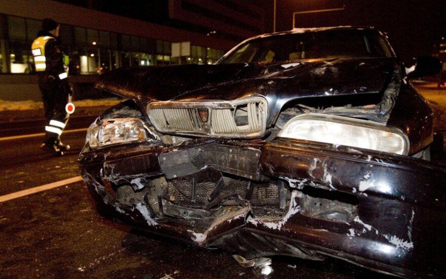 За неделю на дорогах Литвы погибли 5 человек
