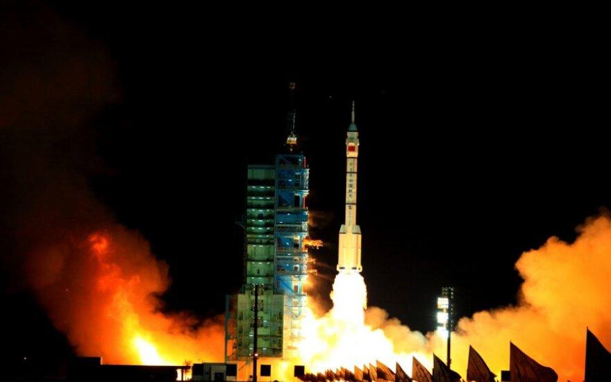 """Shenzhou VIII"" iškėlimas"