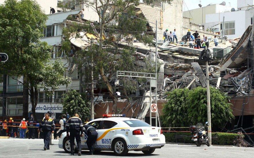 На юге Мексики произошло землетрясение магнитудой 7,5