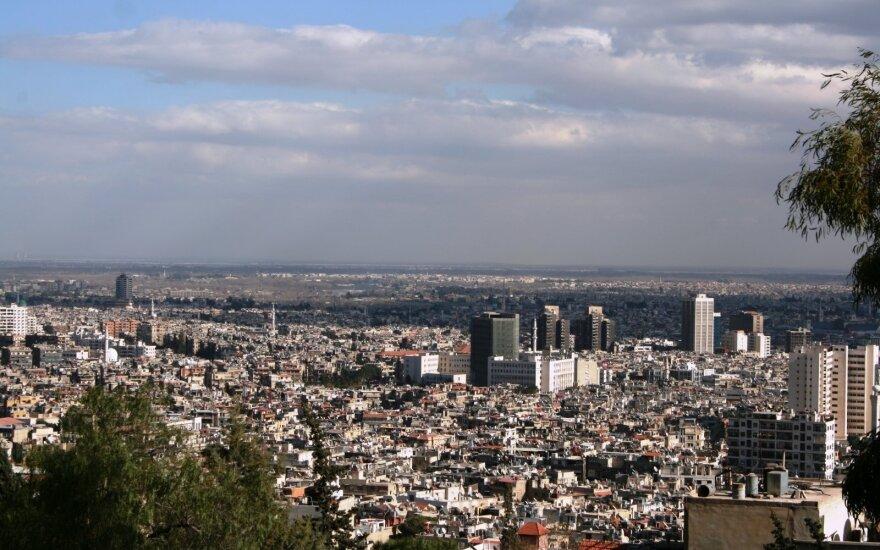 Посольство РФ в Дамаске обстреляно из минометов