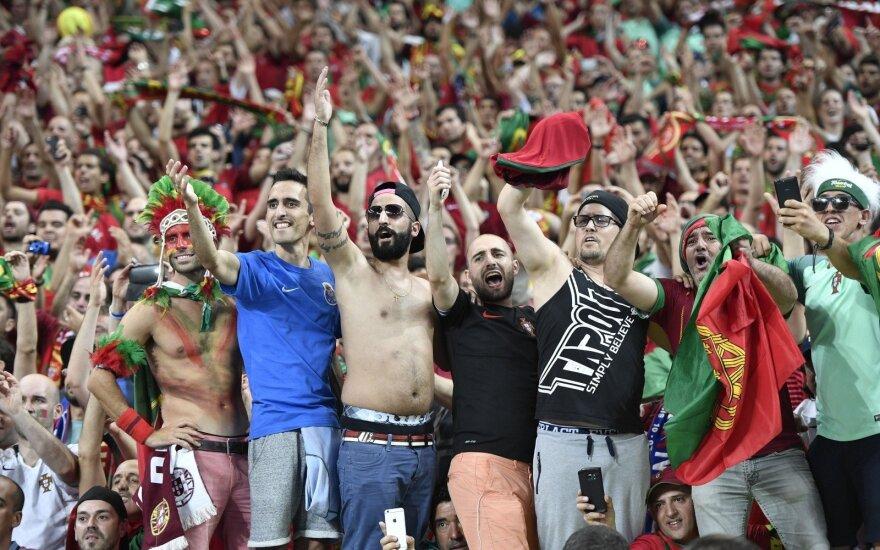 Portugalija — 2016 Europos futbolo čempionė!