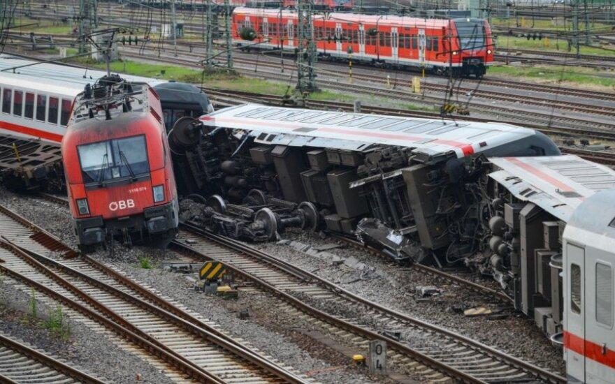 В результате столкновения поездов в Германии пострадали не менее 35 человек