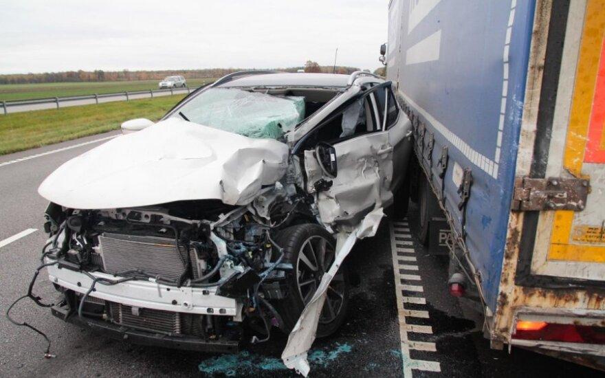 На трассе Клайпеда-Каунас - серьезная авария
