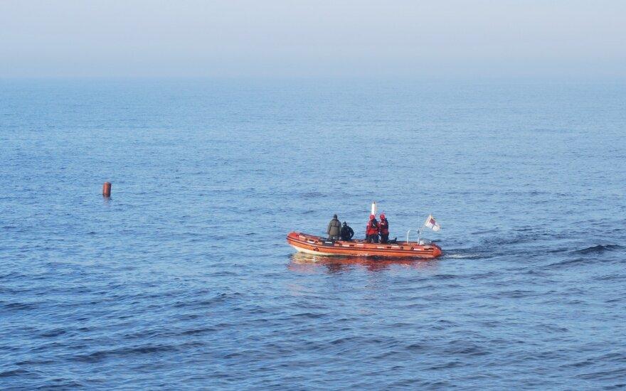 Уничтожен дрейфовавший в Балтийском море корпус торпеды