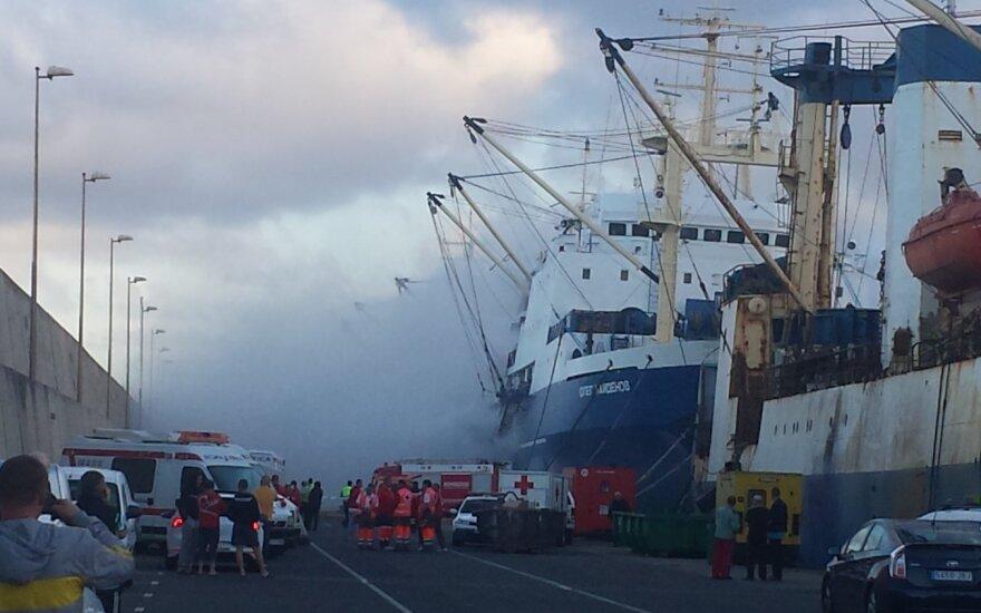 На строящемся корабле в Нижнем Новгороде произошел пожар, погибли двое рабочих