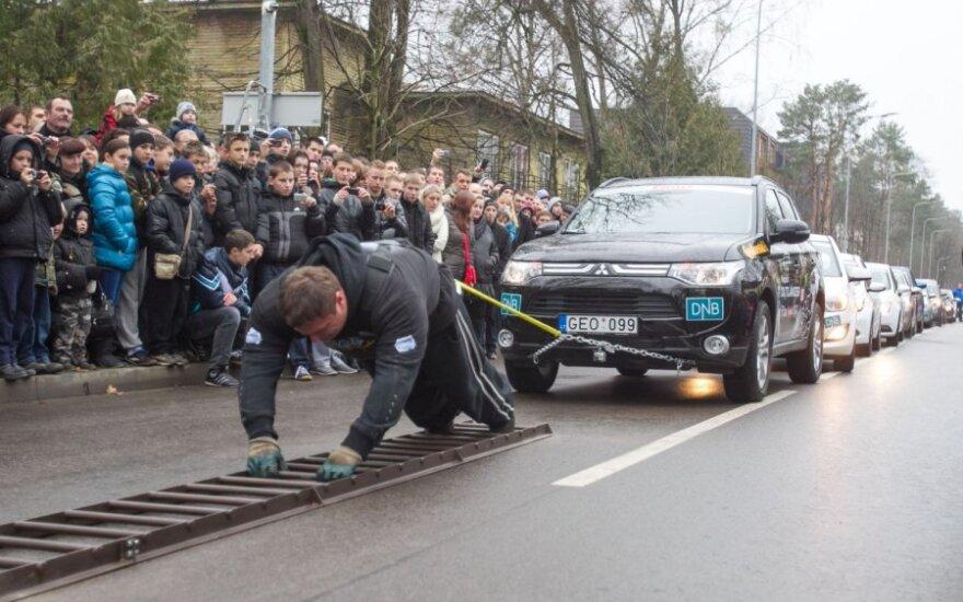 Ž.Savickas pasiekė naują pasaulio rekordą